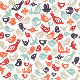 Birds pattern stock illustration