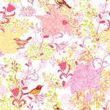 Birds pattern Royalty Free Stock Photos