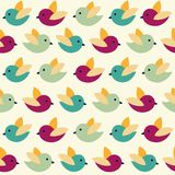 Birds pattern Stock Photography