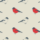 Birds pattern Royalty Free Stock Images