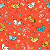 Birds patterns Royalty Free Stock Photos