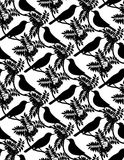 Birds. Seamless background. Royalty Free Stock Photography