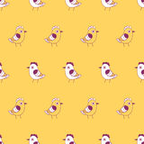 Birds. seamless pattern Royalty Free Stock Images