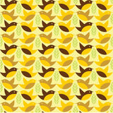 Birds seamless pattern Stock Images