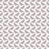 Birds seamless pattern. Royalty Free Stock Image