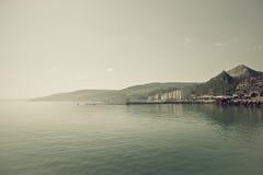 Harbour. Coast view near Balcik City Royalty Free Stock Photography
