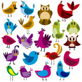 Birds Vector Set Stock Images