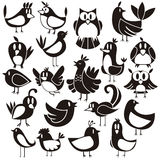 Birds Vector Set Stock Photo