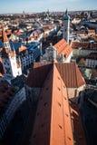 Birdseye-Ansicht München, Deutschland Stockfotos