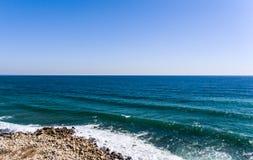Birdseye de bourdon de plage de Bulgary de mer photographie stock libre de droits