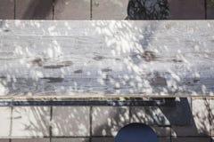 Birdseye de uma barra da rua Fotografia de Stock Royalty Free