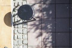 Birdseye de uma barra da rua Fotos de Stock Royalty Free