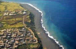 Birdseye peak of Sao Filipe Royalty Free Stock Image