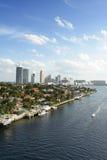 Birdseye van Miami Royalty-vrije Stock Foto