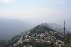 a Birdseye view of Gangtok
