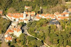 Birdseye view of Sintra. Sintra. Portugal Stock Photo