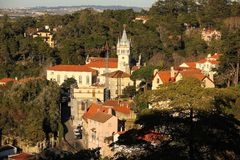 Birdseye view of Sintra. Sintra. Portugal Stock Photography
