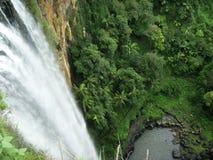 Birdseye waterfall Royalty Free Stock Images