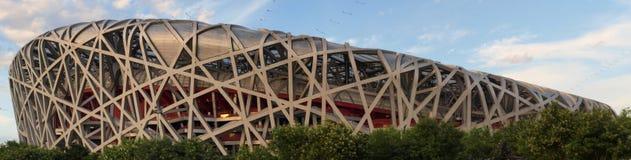 Birdsnest in Beijing, China. Olympic Stadium stock images