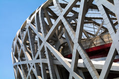 Birdsnest in Beijing, Olympic Stadium. Birdsnest in Beijing, China, Olympic Stadium Stock Image