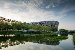 Birdsnest in Beijing, Olympic Stadium. Birdsnest in Beijing, China, Olympic Stadium Royalty Free Stock Photo