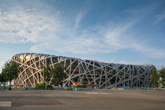Birdsnest in Beijing, Olympic Stadium. Birdsnest in Beijing, China, Olympic Stadium royalty free stock photos