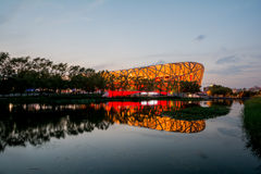 Birdsnest in Beijing, Olympic Stadium Royalty Free Stock Image