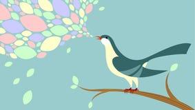 birdsong royalty ilustracja