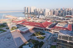 Birdview China Zhuhai and Macao Royalty Free Stock Photography