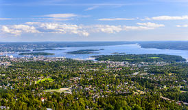 Birdview of Oslo Stock Photos