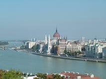 birdview parlament της Βουδαπέστης Στοκ Εικόνες