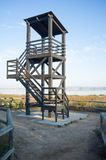 Birdwatch tower Stock Images