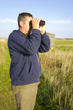 Birdwatcher Royalty Free Stock Photography