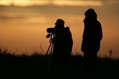 Birdwatchers стоковая фотография
