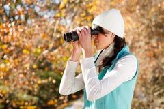 Birdwatching Fotografia Stock Libera da Diritti