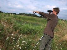 Birdwatching Lizenzfreie Stockfotografie