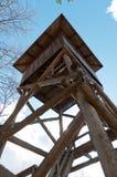 Birdwatching Turm lizenzfreie stockfotografie