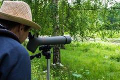 Birdwatching Royalty Free Stock Image