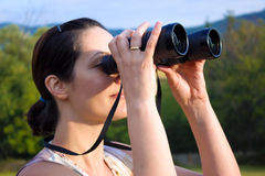 Birdwatching Royalty Free Stock Photography