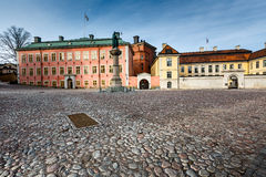 Birger Jarls Square in Riddarholmen (part of Gamla Stan). Stockholm, Sweden Stock Photography