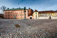 Birger Jarls Square in Riddarholmen (Teil von Gamla Stan) stockfotografie