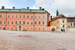 Birger Jarls Torg in Stockholm lizenzfreies stockbild