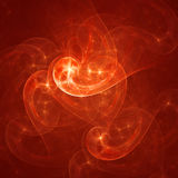 Birght Strahlen des Sternes Stockfoto
