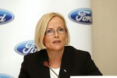 Birgit Behrendt - azienda del Ford Motor Fotografie Stock Libere da Diritti