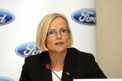 Birgit Behrendt - compagnie de Ford Motor photos libres de droits