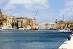 Birgu and Senglea Harbour Royalty Free Stock Photos