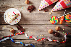Birhday background Royalty Free Stock Photos