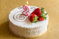 Birhday cake Stock Image