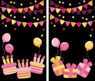 Birhday Greeting Royalty Free Stock Images