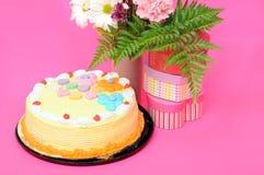Birhtday蛋糕 免版税库存图片